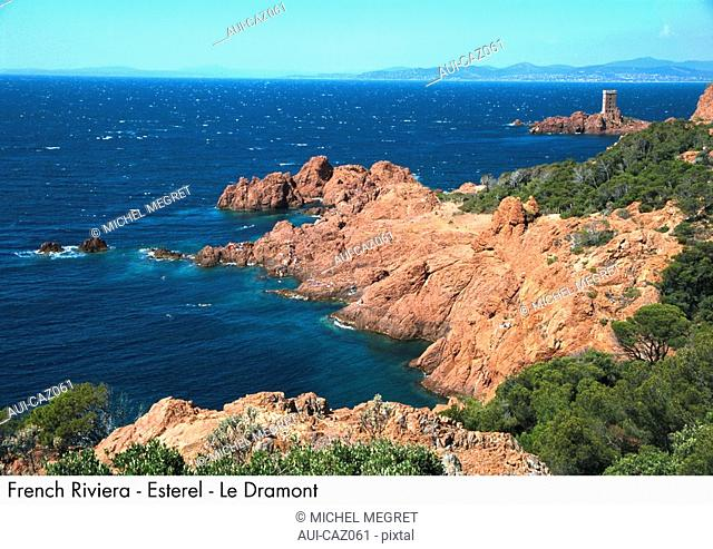 French Riviera - Esterel - Le Dramont