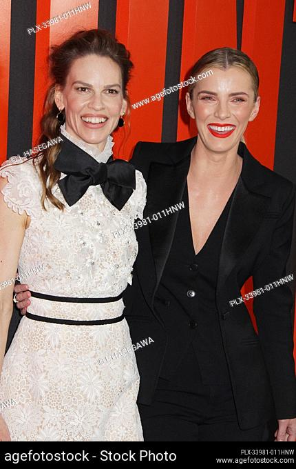 "Hilary Swank, Betty Gilpin 03/09/2020 The Special Screening of """"The Hunt"""" held at The ArcLight Hollywood in Los Angeles, CA. Photo by I"