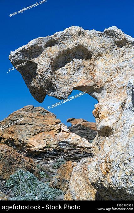 Cap de Creus Natural Park, The Costa Brava, Alt Emporda, Emporda region, Girona Province, Catalonia, Spain