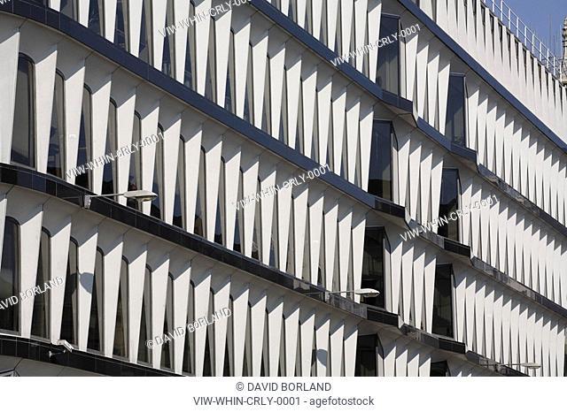 Credit Lyonnais building 30 Cannon Street, south-east facade