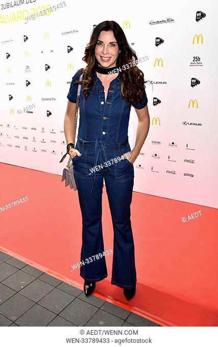 99 Fire Films Award at Admiralspalast during 68th International Film Festival Berlinale. Featuring: Alexandra Polzin Where: Berlin