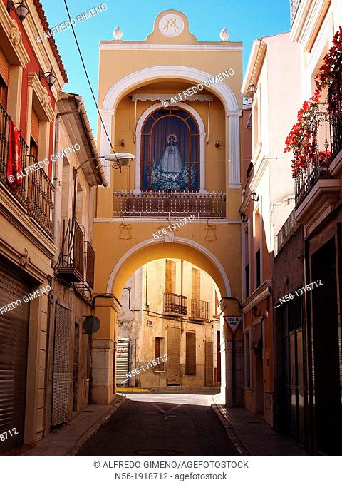 Image of the Virgin Mary, Aspe, Alicante, Spain