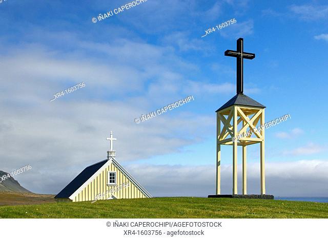Faskrudsfjordur Fjord Church, Iceland