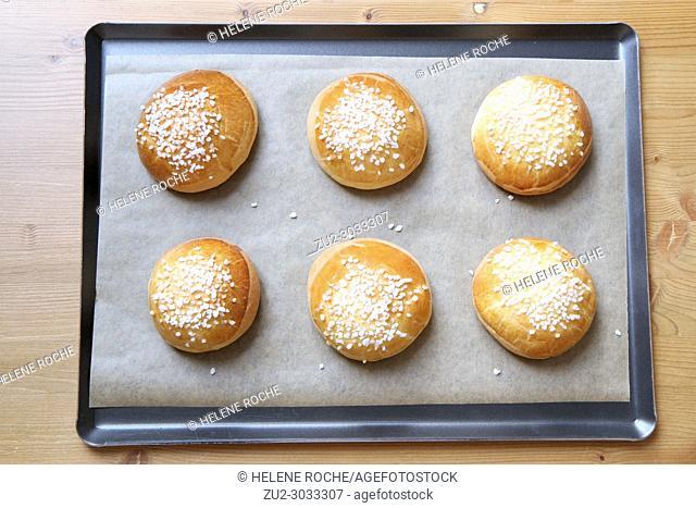 French bakery style brioche