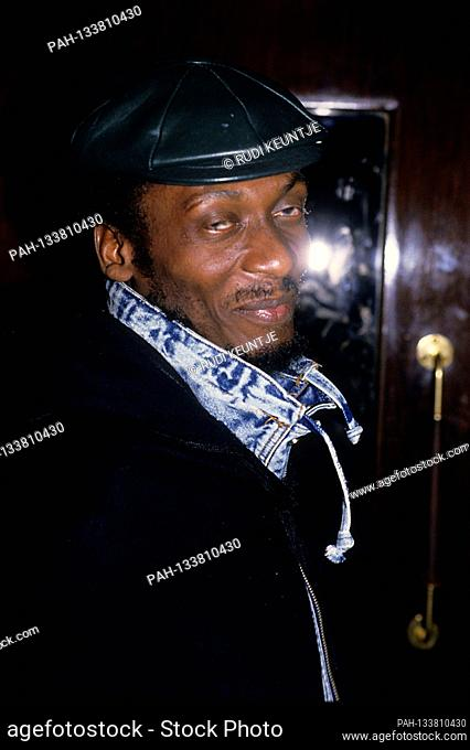 Jimmy Cliff at the gala premiere of the documentary 'Chuck Berry Hail! Hail! Rock 'n' Roll 'in Empire Leicester Square. London, 2/17/1988 | usage worldwide