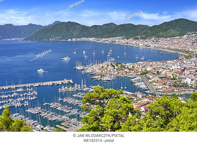 Marmaris Old Town and Harbour, Turkey