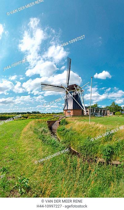 De Groeve, Drenthe, Windmill called De Boezemvriend