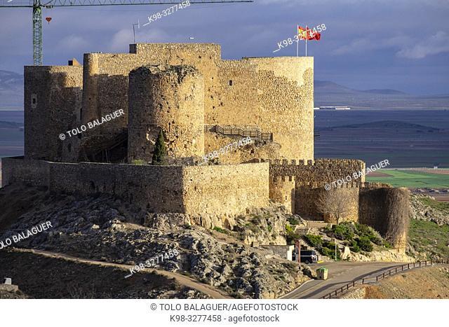 castillo de la Muela, Consuegra, provincia de Toledo, Castilla-La Mancha, Spain