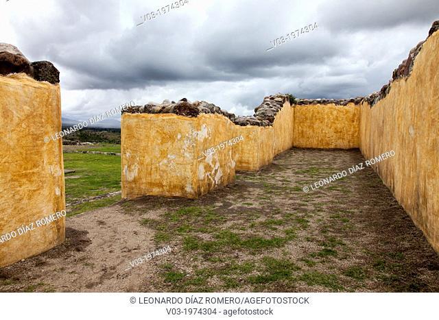 Yagul Archaeoligical Site at Oaxaca, Mexico