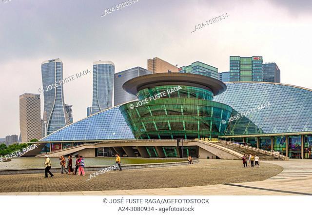 China, Hangzhou City, Jianggan District, Qianjiang New City, Hangzhou Grand Theater