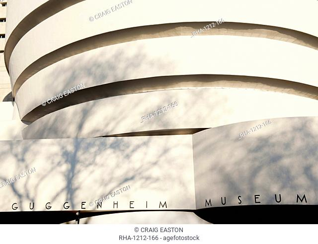 Guggenheim Museum. New York, United States of America, North America