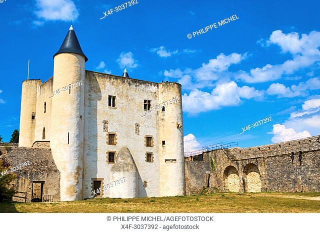 France, Vendée, Noirmoutier, Noirmoutier-en-l'Ile, the castel