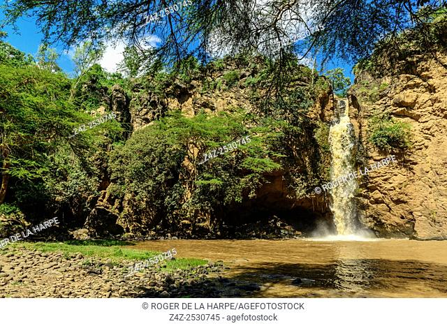 Makalia Falls. Lake Nakuru. Nakuru. Great Rift Valley. Kenya
