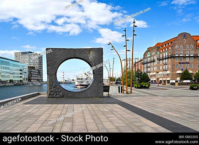 Historical building, harbour area, Malmö, Sweden, Europe