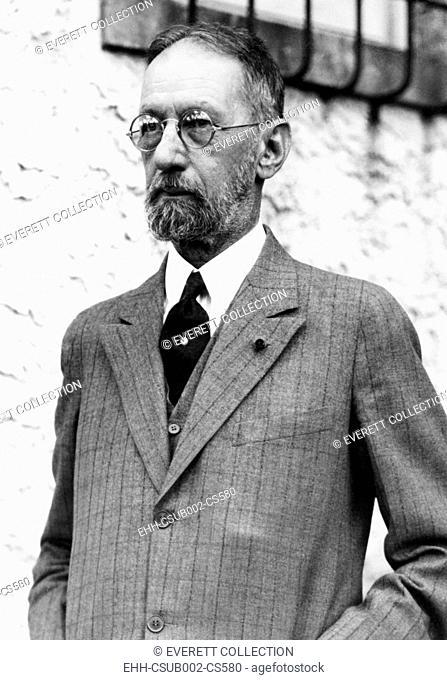 Mario Garcia Menocal, President of Cuba, from 1913 to 1921, as a refugee in Florida, 1933. His 1931 attempt to overthrow the dictatorial Gerardo Machado failed