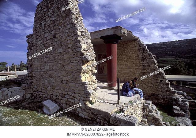 Palace of Knossos Iraklio, Crete, Greece