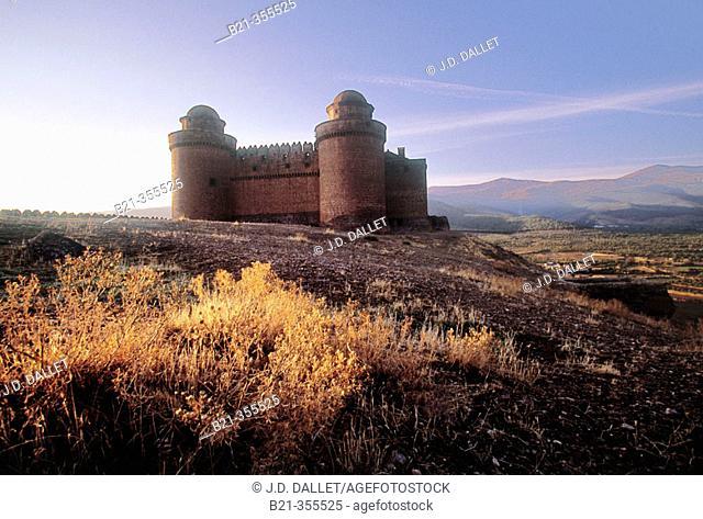 Lacalahorra Castle. Granada province, Spain