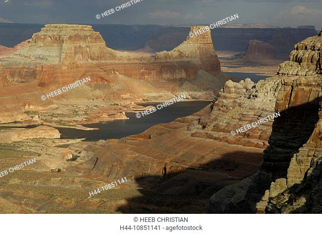 10851141, Usa, Page, Utah, View From Alstrom Point