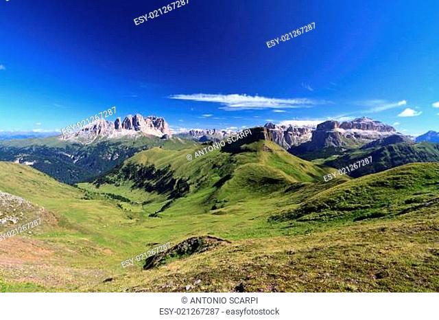 Dolomiti - high Fassa Valley