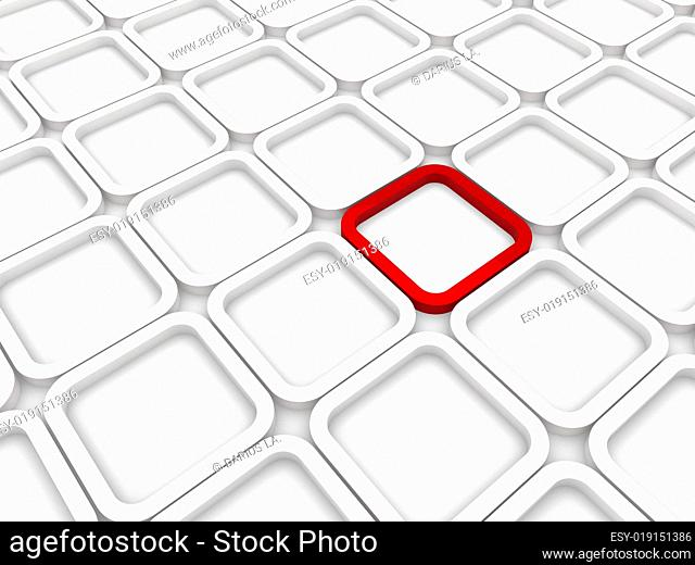 3d background area cube