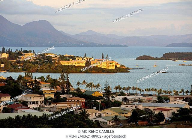 France, New Caledonia, Grande-Terre, Southern Province, Noumea, Sainte Marie Bay
