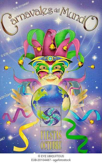 Guadalajara carnival poster