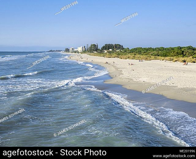 Southwest gulf coast on the Gulf of Mexico in Venice Florida USA