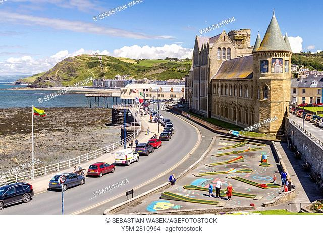 University College, Aberystwyth, Ceredigion, Wales, United Kingdom, Europe