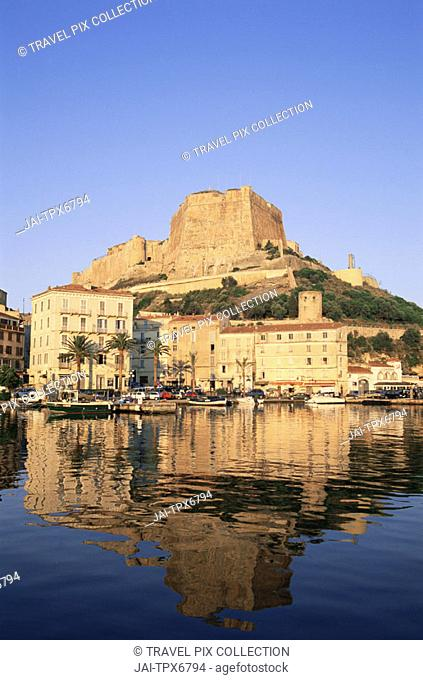 France, Corsica, Bonifacio Harbour