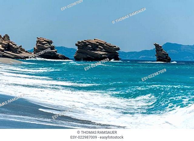 Bucht Trio Petra auf Kreta/Griechenland