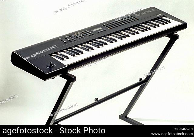 An electronic keyboard or digital keyboard is an electronic musical instrument, an electronic or digital derivative of keyboard instruments
