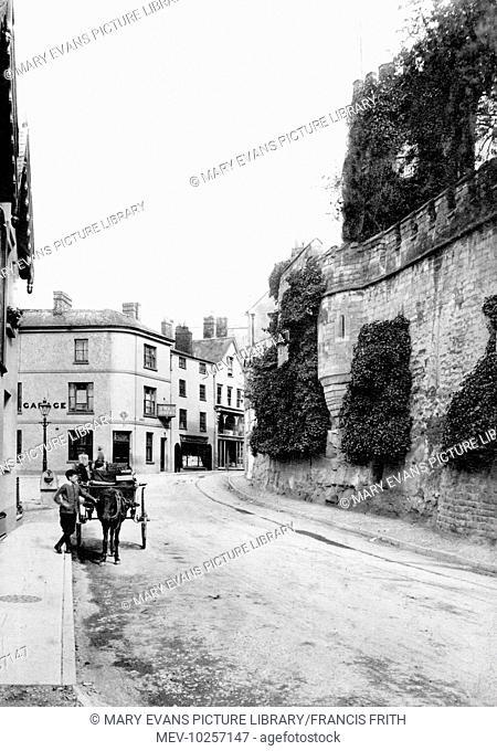 Ross-on-Wye, Swan Hotel 1906
