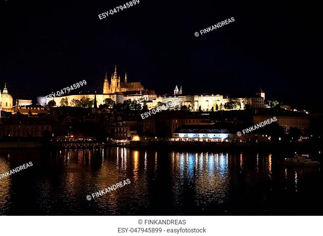 the beautiful old town of Prague