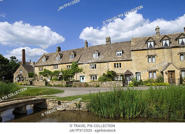 England, Gloustershire, Cotswolds, Upper Slaughter