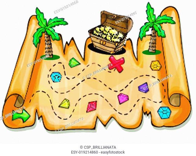 Game for kids - Pirate treasure