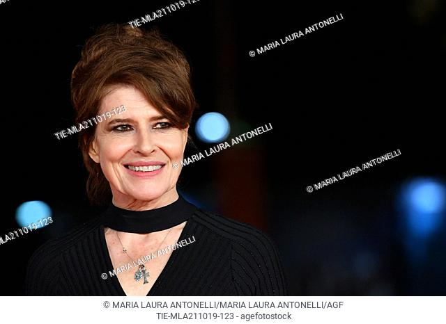Fanny Ardant pose for the screening of 'La Belle Epoque' at the 14th annual Rome Film Festival, in Rome,ITALY-20-10-2019