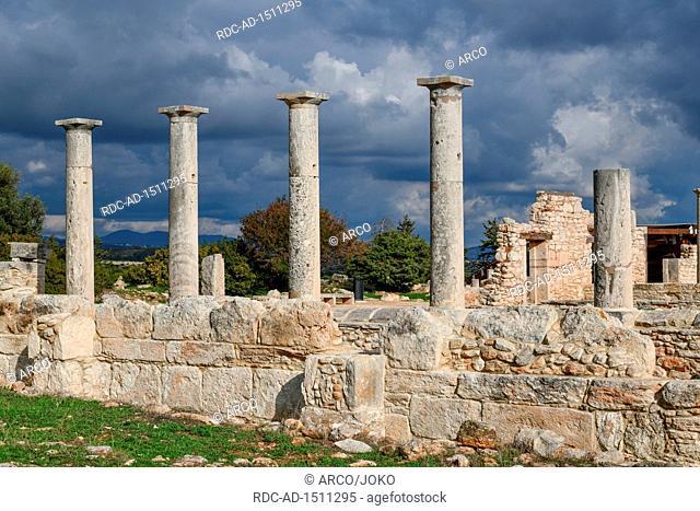 Apollo Heiligtum, Ausgrabungsstaette, Kourion, Zypern