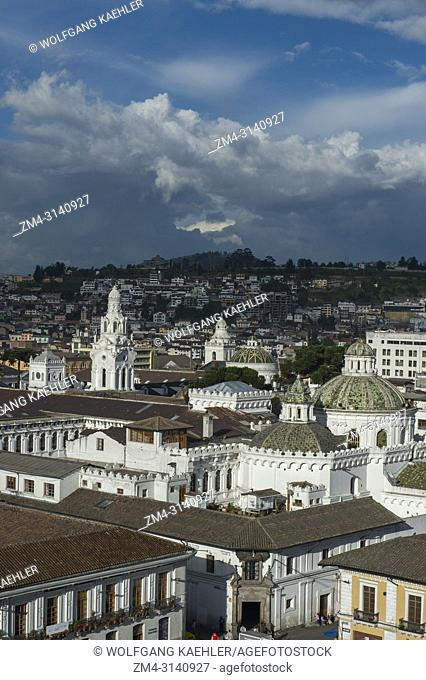 View from the Monastery of St. Francis, commonly known as el San Francisco, a 16th-century Roman Catholic complex of the historic center (UNESCO World Heritage...