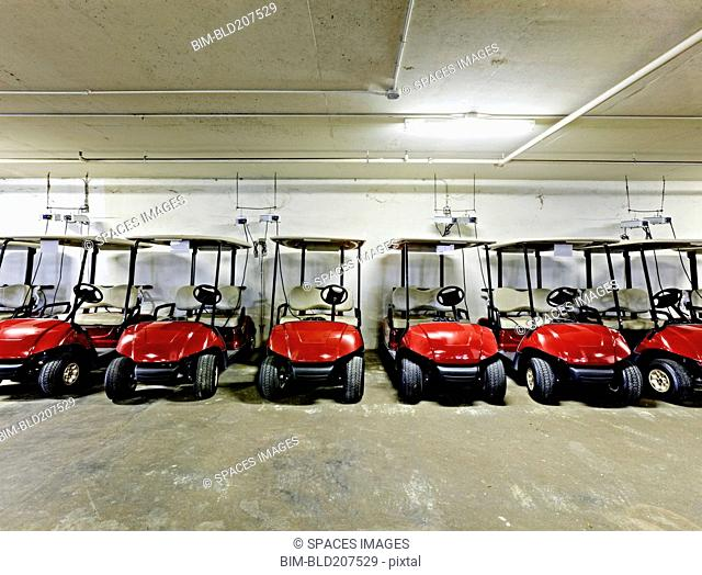 Golf Cart Parking Garage