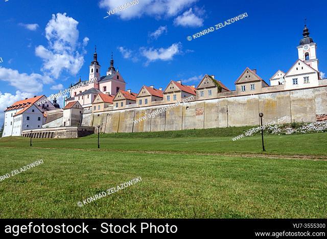 Post Camaldolese Monastery in Wigry village in Suwalki County, Podlaskie Voivodeship, Poland