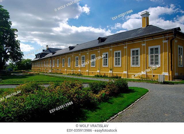 Kozel Chateau, Stahlavy, the Plzen Region, the Southwestern Bohemia, Czech Republic