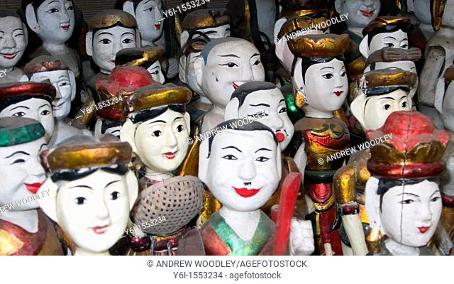 Water puppets for sale Hanoi Vietnam