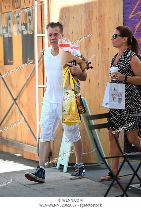 Eddie Van Halen Goes To The Farmers Market With His Wife Janie Liszewski Featuring Eddie Van Halen Stock Photo Picture And Rights Managed Image Pic Wen Wenn32062067 Agefotostock