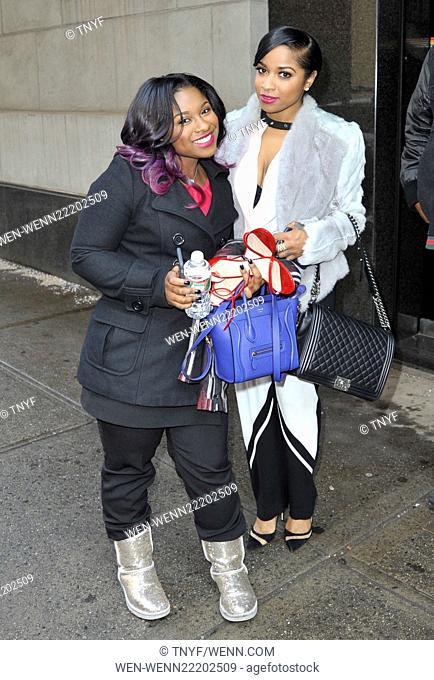Antonia Toya Wright and Reginae Carter in New York Featuring: Antonia Toya Wright, Reginae Carter Where: Manhattan, New York