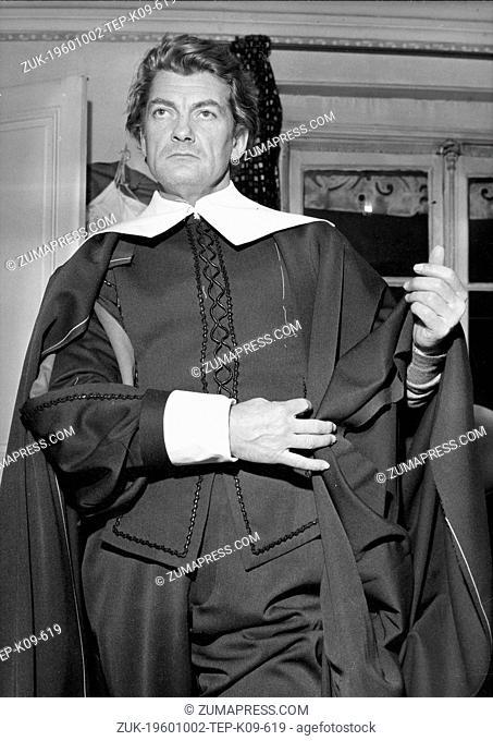 Oct 02, 1960 - London, UK - JEAN MARAIS (Credit Image: © Keystone Press Agency/Keystone USA via ZUMAPRESS.com)
