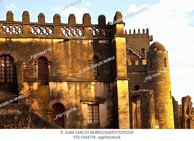 Royal Palace. Gondar. Ethiopia. Africa
