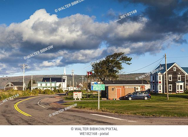 Canada, Nova Scotia, Advocate Harbour, small town by the Bay of Fundy