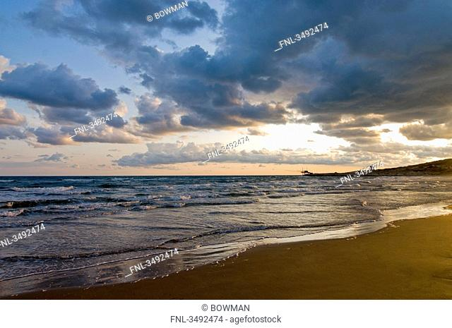 Beach at adriatic sea, Puglia, Italy, Europe