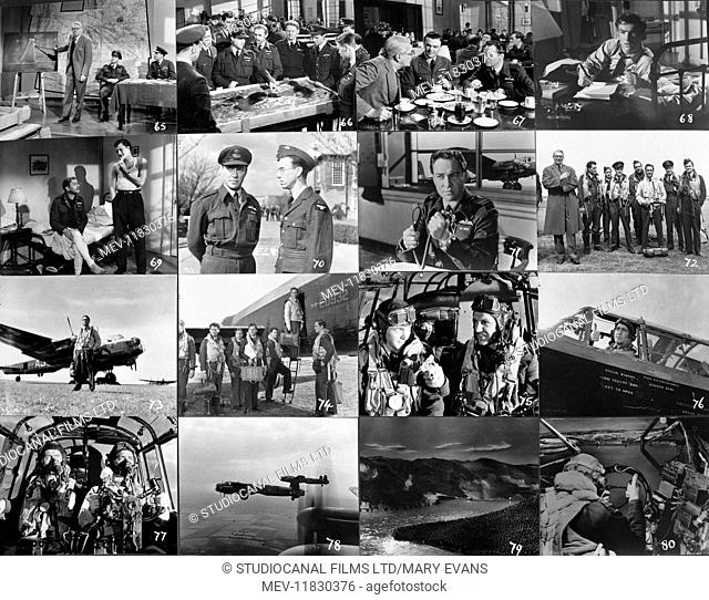 The Dam Busters (1955). (Strictly editorial use only. Television and book cover use must be cleared before use. Commercial