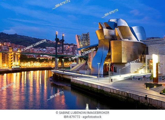 Guggenheim Museum, Bilbao, Basque Country, Spain, Europe